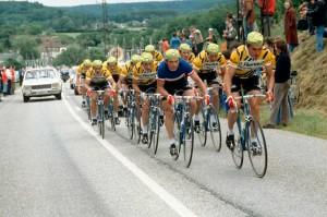 L'échappée du Tour de France
