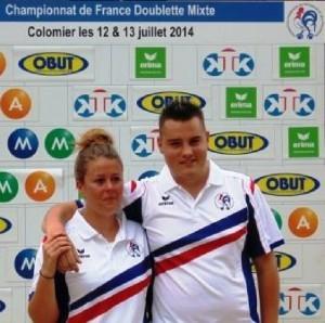 Champions mixtes pétanque ffpjp 2014