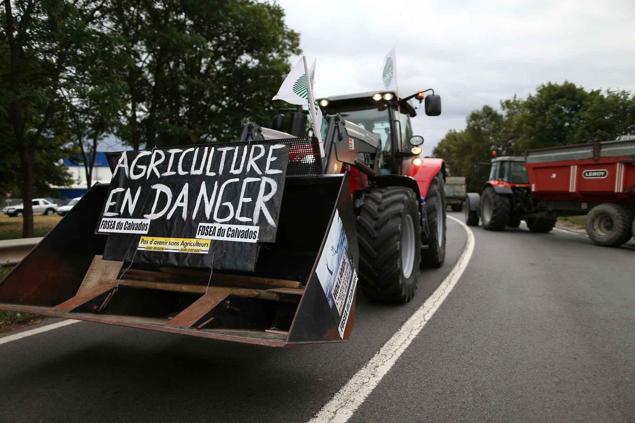 agriculteur manifestation