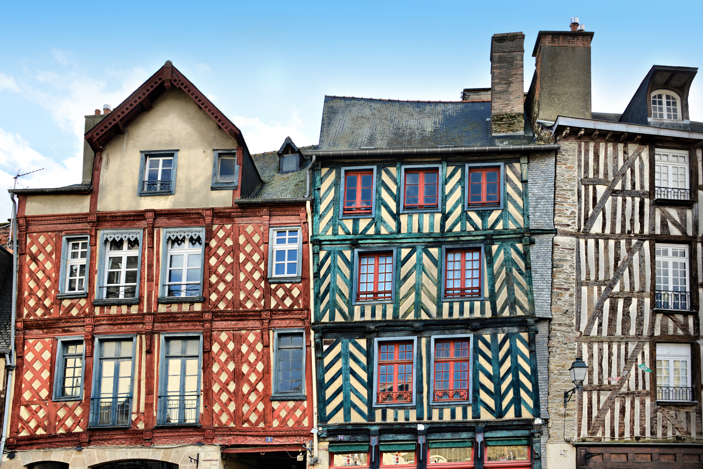 Patrimoine immobilier à Rennes