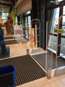 Détection-de-métal-portique-antivol-magasin-chaussures