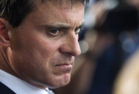 Violence notoire contre Manuel Valls