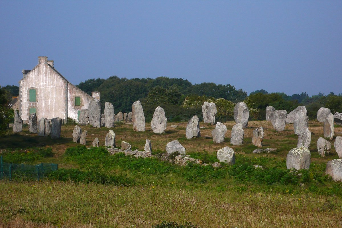 menhirs Carnac