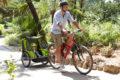 Comment utiliser une remorque vélo pour enfant en bretagne