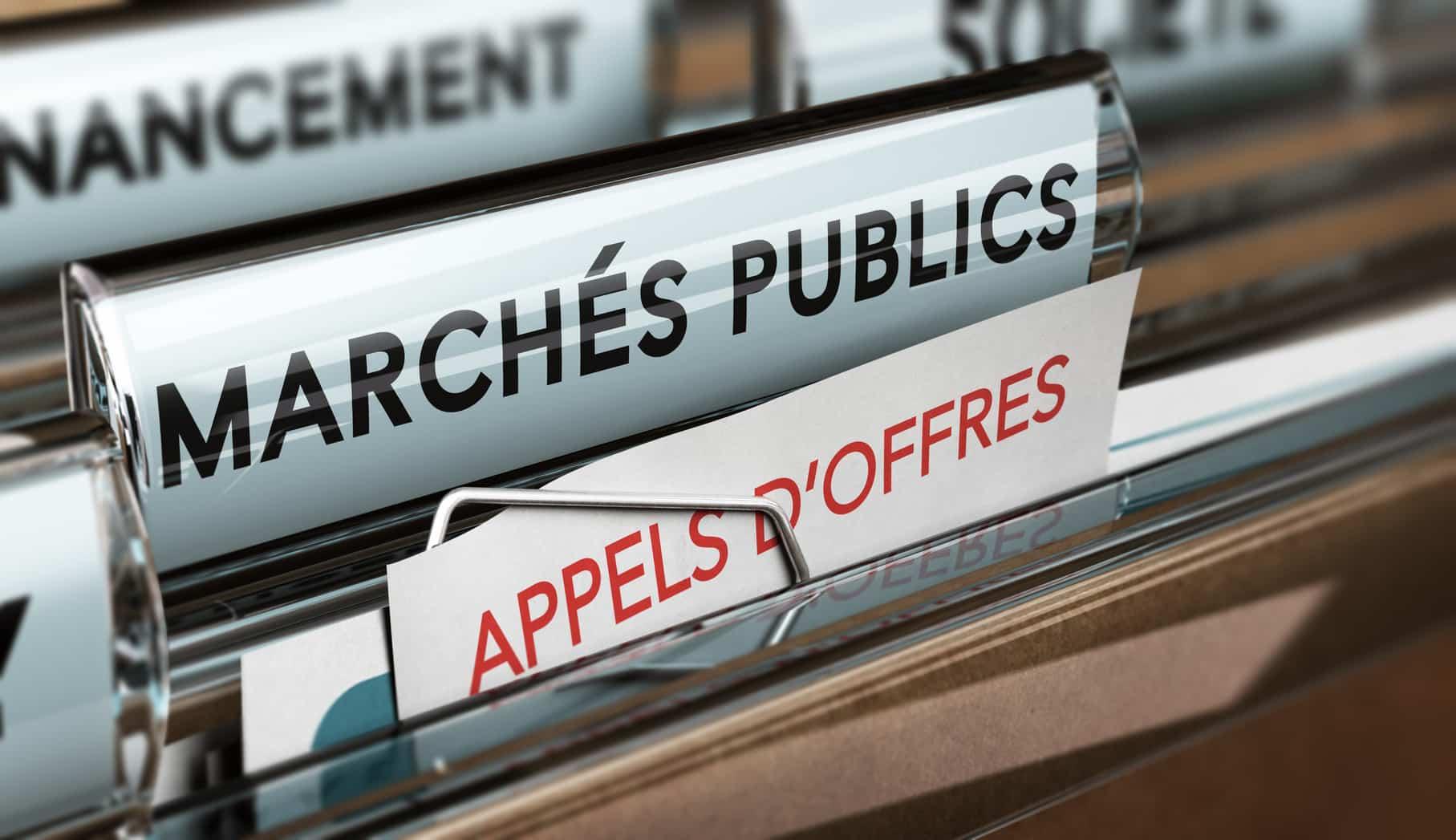Les dossiers d'appel d'offres pour marchés publics