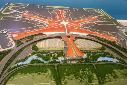 Pékin : la construction du plus grand terminal aéroportuaire du monde