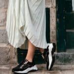 Quelles chaussures porter avec une jupe droite ?