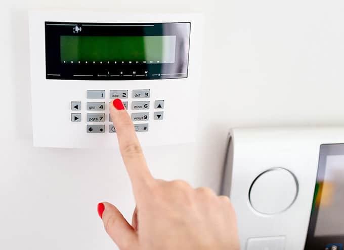 système d'alarme de maison